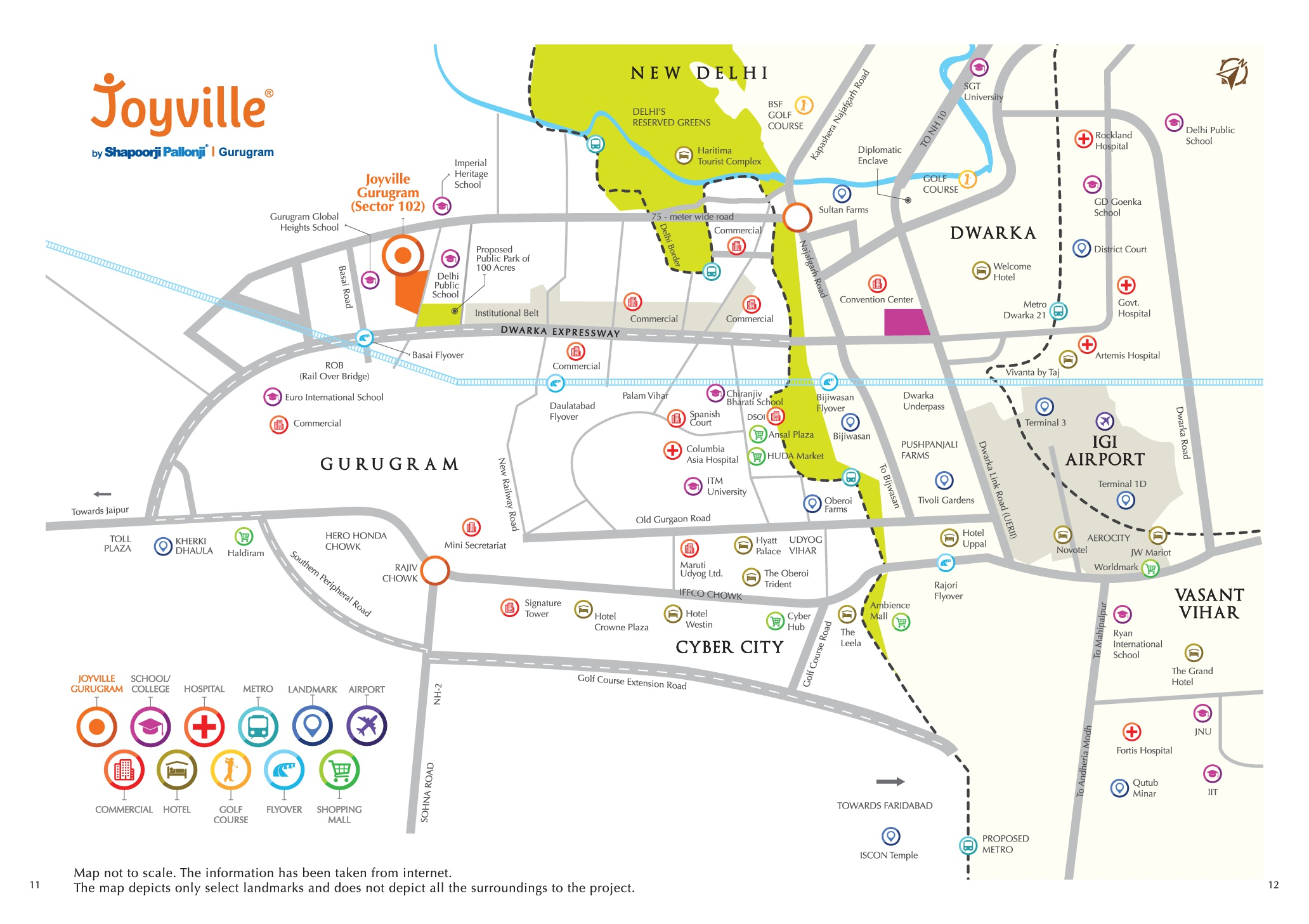 Location Map Joyville Sector 102