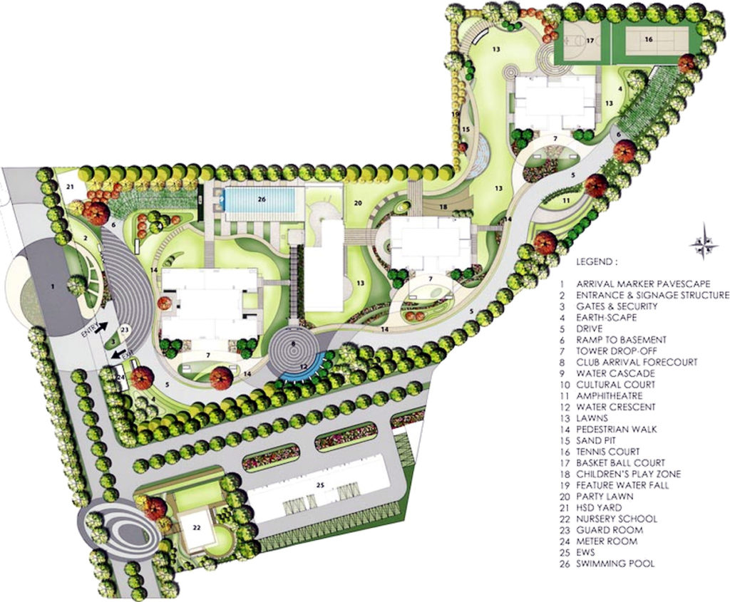 Site Plan Emaar Digi Homes Sector 62 Gurugram