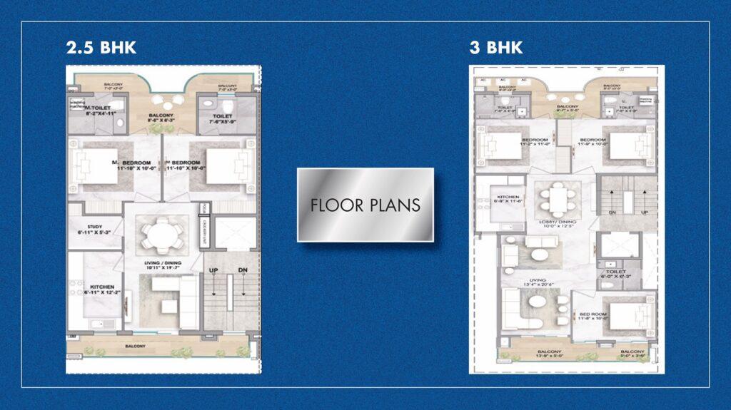 Floor Plan Smart World Sector 61 Gurgaon