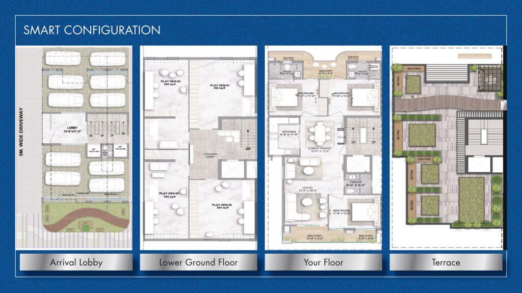 Unit Plan Smart World Sector 61 Gurgaon
